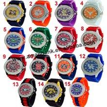 105pcs/lot,fashion college silicone watch,hot sale ladies/men watch 2 styles,jelly  fashion lady watch.(China (Mainland))