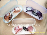 HOT in 2014!! fashion baby kids Children sunglasses glasses ANTI-UV 400 with case  50pcs/lot Free shipping