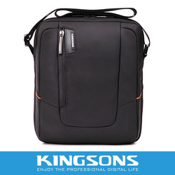 Kingsons brand messenger bag high quality noble nylon 9.7&quot;men&#39;s best choice KS3021 for ipad(China (Mainland))
