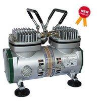 U-STAR Mini Air Compressor U-602, Twin-Cylinder Piston, High-Performance, Tankless, Oil-less & Quiet