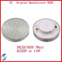 10pcs/Lot 7Watt 6Watt 5Watt  3Watt  GX53 LED Cabinet Light