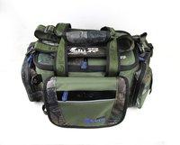 Free shipping  fishing tackle bag TB04 multifunction large capacity waterproof fabrics pockets