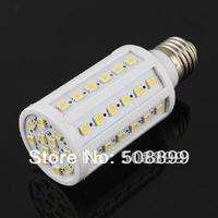 Freeshipping E27 12W 60-LED 5050 SMD Warm White Energy Saving Lamp Light Bulb 85-265V 5pcs/lot +Dropshipping