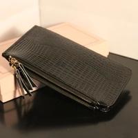The crocodile grain women's bank card bag more credit lady card set Free shipping 1026