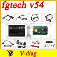 2014 Latest Version V54 FGTech Galletto 4 Master BDM-TriCore-OBD Function FG Tech ECU Programmer with Multi-langauge cn post