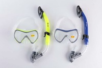 FREE SHIPPING!Diving mask and dry snorkel high quality silicone  snorkel set, snorkling equipment mask gear  diving equipment