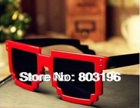 5PCS/Lot Fashion Super Star Cool Summer Sunglasses Women Square Shape Sunglasses Free Shipping