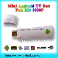 Big promotion best service good price MINI HDMI TV Dongle Wifi HD 1080P Mini USB Android 4.0 Media Player Smart TV Box