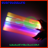 TOP QUALITY NEW ARRIVAL free shipping 100pcs/lot 7 modes 4*40cm led foam stick foam glow stick for party Christmas