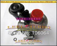 TD025 28231-27500 49173-02610 Turbo Turbocharger For HYUNDAI Accent Matrix Getz KIA Cerato Rio 2001-2005 1.5L D3EA 1.5 CRDi