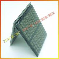 10pcs/lot 5.5V 140mA 0.77W mini solar panels small solar power 3.6v battery charge solar led light solar cell -10000547