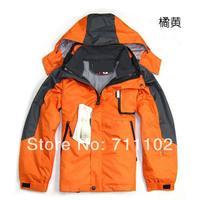 Children winter jacket dress kids 9 - 14 year old sports teenage clothes Waterproof windproof removal hoodies boy girl coat new