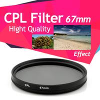 67mm Double Thread CPL Circular Polarising Filter for Canon 60D 600D 18-135mm lens