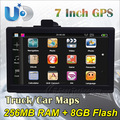 Free shipping 7 inch android 4.0 GPS MID, 1.2GHz cpu,512DDR3,8G car GPS /tablet bulit-in wifi , support internet