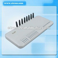 Free shipping  8 Channels GOIP / Voip GSM Gateway,  Quadband850/900/1800/1900Mhz, Support VPN & IMEI Change