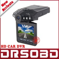 2.5 TFT LCD screen Portable Car DVR 198 HD Car Video Recorder Camera 6 IR LED Night vision 90 degree wide view angle