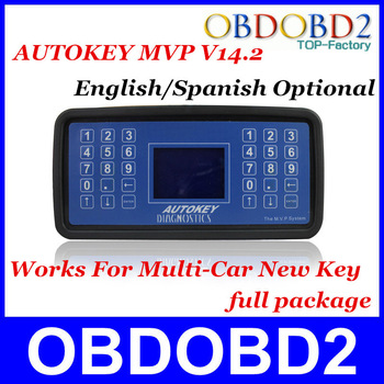 Quality A+++ MVP Key Programmer Latest V13.8 English Or Spanish Supports Multi-Vehicle Professional Diagnostic Tool DHL Free
