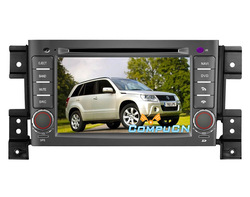 Car DVD For SUZUKI GRAND VITARA With GPS Navigation Radio RDS Bluetooth TV iPod 3G WIFI, FREE Shipping+Map+Rearview Camera+Gift(Hong Kong)