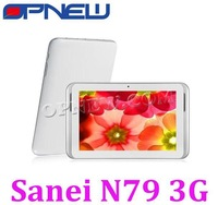 Orignal SANEI N79 Qualcomm MSM8225 Dual-Core 3G Phone Call Tablet PC with Built-in 3G GPS Capacitive Touch  Android 4.1.1