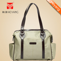 New Style Free Shipping Fashion Khaki,DK Green,Gray Oxford Multi-functional Baby Diaper Nappy Bags For Lovely Mummy HY-1105