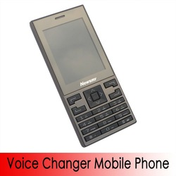 Voice Changer Cell Phone VC-400 With Dual Sim Cards Dual Standby GSM Dual Band 900/1800Mhz MP3 MP4 FM Radio mobile phone(China (Mainland))