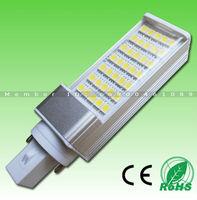 DHL FREE! Super Bright AC85-265V isolated power 5W/7W/9W/11W/12W/14W SMD5050 WW/NW/CW E27 G24 led light bulb with PC cover