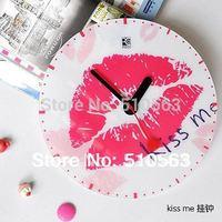 qt003 hot  wholesale diy clock 1pcs acrylic sitting room the bedroom creative mute fashion acrylic wall clock