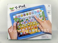 Free shipping, y pad Russian language New Arrival Y-pad Children Learning Machine 19cm*24cm (Russian Computer for Kids)