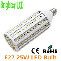 CREE 5050 25W 165SMD LED Corn Light 220V  E27 Corn Bulb Lamp 360 Degree Free Shipping