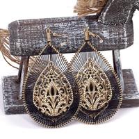 Vintage earring handmade knitted bohemia 2013 drop earrings for women E055TC-4
