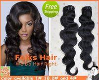 Hair Innovation Queen Hair Factory Price 100% Human Hair Mixed Lengths Brazilian Hair Body wave 4pcs/lot 1b/#2/#4 DHL Free