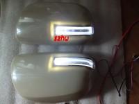 LED rear-view mirror lights with cover ; LED turn singal light case for Toyota HIGHLANDER, ESTIMA, ALPHARD, VANGUARD,VOXY,NOVY