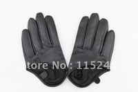 NEW WOMEN'S HALF PALM GENUINE LEATHER GLOVES