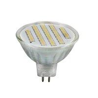 5pcs/lot MR16 3w glass led spotlight AC100-240V/250LM/SMD 3014 76PCS