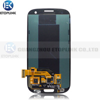 Touch Screen Digitizer LCD Display Assembly for SamSung for Galaxy S3 III i9300 i535 T999 i747 Blue Free Shipping
