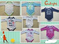 atacado infantil Original baby romper boy&girl's long sleeve  one piece  100% cotton 6pcs/lot cartoon cute infant clothes baud
