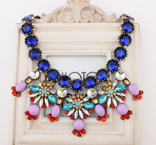 Hot-sale Free Shipping Promotion Statement chunky Necklace 2013 Vintage African Jewelry(China (Mainland))