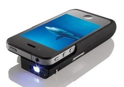 2013 new design Pocket projector for iphone 4S only chargible projector for iphone Mini project free shipping(China (Mainland))