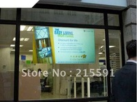 Free shipping different color  rear projection screen/foil/film for shop, advertising, stage, education