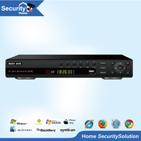 H.264 CCTV DVR 1080P HDMI Output 8CH Full D1 Realtime Recording  PTZ Contral  Support P2P Cloud 3G WIFI TP-4008E