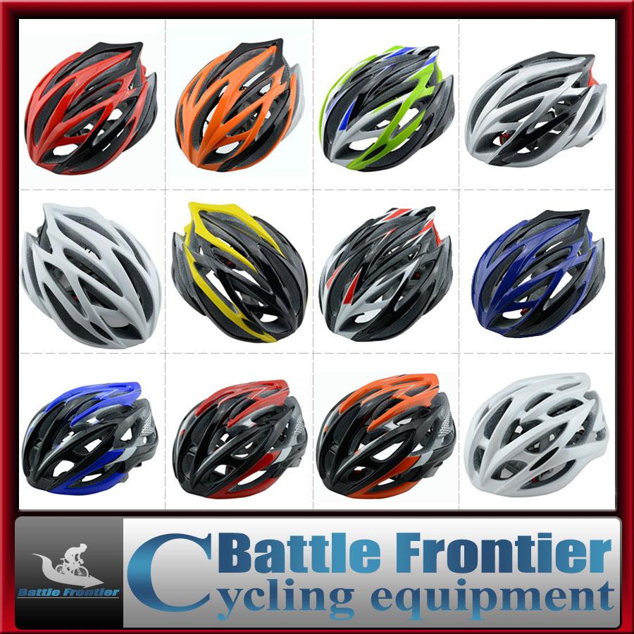 20colors man woman 57-62cm adjustable mtb road bicycle cycling helmet/head gear protector white,blue,titanium,orange bike parts(China (Mainland))