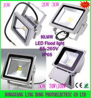 4pcs/lot 10W 20W 30W 50W LED Flood Light outdoor lamp Floodlight Waterproof IP65 Warm / Cool white /RGB 85-265V by Express