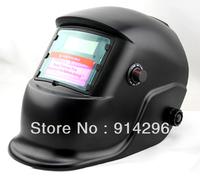 92*42 Free shipping Solar Auto-Darkening Welding  Helmet ANSI CE EN379 for Arc Mag Mig Tig