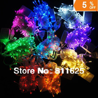 Multicolour 10M 100 LED String Light  110V /220V Decoration Light for Christmas Party Wedding With 8 Display Modes Free Shipping
