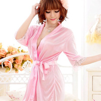2014 Sexy temptation cardigan dress rope clothing set bathrobes pajamas women sexy lingerie Free Shipping301