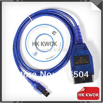 2014 High Quality Vag 409 VAG-COM 409.1 Vag Com 409.1 KKL OBD2 USB Cable Scanner Scan Tool Interface For Audi VW Kia Free Ship