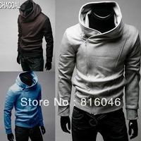 High collar coat 2012 new arrival Hoodies top brand men's jackets,men's dust coat,men'soutwear free shipping