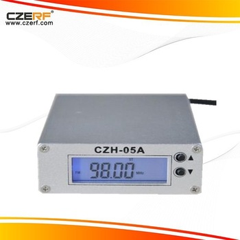 Classic Free Shipping  CZH-05A 0.5W Silver FM Transmitter Kits Power Supply+Short Antenna+Audio Cable