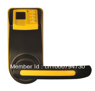 New ADEL LS9 Biometric Fingerprint  Password Door Lock ( Fingerprint+Password + Mechanical Key )