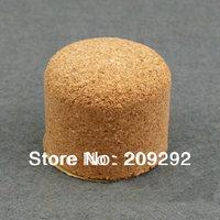 "1.2"" Cork knocker Pipe cork Cork Pipe Knocker With Adhesive Strip For Ashtrays 100 pcs/lot"